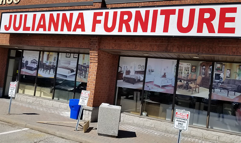 Store front Toronto